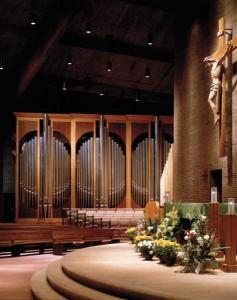 Buzard Opus 25 at Holy Family Catholic Church, Rockford, Illinois