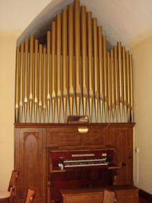 1914 Estey, Opus 1233 at First Presbyterian Church, Piper City, IL