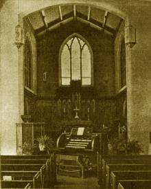 Hinners Pipe Organ at St. John's Lutheran Church, Pekin, Illinois