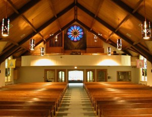 Schlicker 1950's Pipe Organ at Immanuel Lutheran Church, Glenview, Illinois