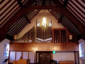 1963 E.F. Holloway Organ at University Lutheran Church, Bloomington, Indiana