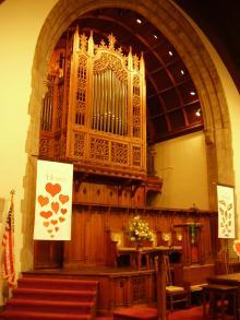 Skinner; Bunn=Minnick; New Console at Second Presbyterian Church, Lexington, Kentucky