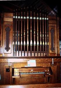 1891 Hook & Hastings, Opus 1481 at St. John the Baptist Episcopal Chapel, Elkhart, IL