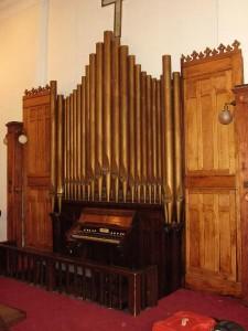 Verney Pipe Organ ca.1905 at Allen Chapel A.M.E. Church, Terre Haute, IN