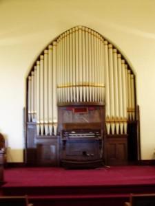 1907 Pilchers Sons, Opus 605 at Wesbein United Methodist Church, Saybrook, IL