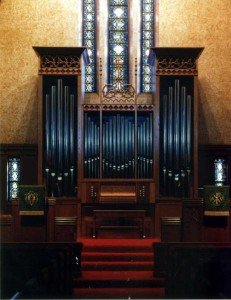 Mechanical Action Organ Project at The United Methodist Church, Creston, Iowa