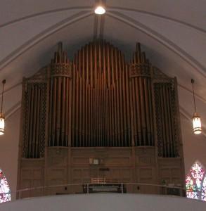 Hinners Organ Op. 2630, 1922 at St. Mary's Catholic Church, Bloomington, Illinois