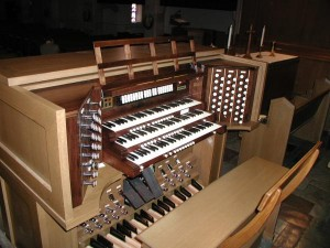 1959 Reuter Organ, Opus 1249 at University Place Christian Church, Champaign, Illinois