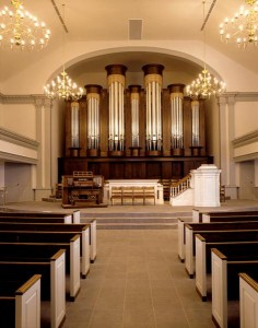 Buzard Opus 32 at Williamsburg Presbyterian Church, Williamsburg, Virginia