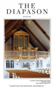 Buzard Opus 33 at St. Francis in the Fields Episcopal Church, Zionsville, Indiana