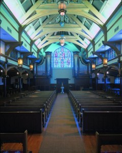 Buzard Opus 35 and 1982 McManis at Saint Peter's Episcopal Church Chicago, Illinois