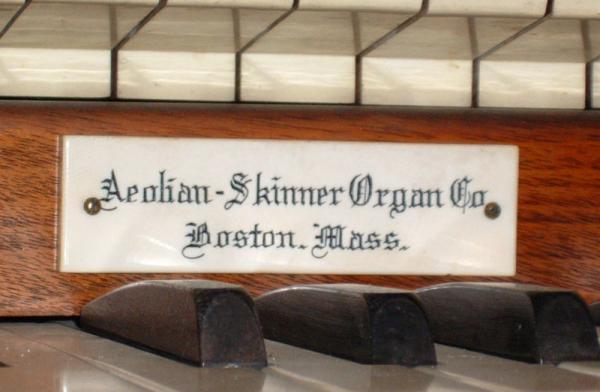 Our Savior Lutheran Whitefish Bay Aeolian Skinner Opus 1169