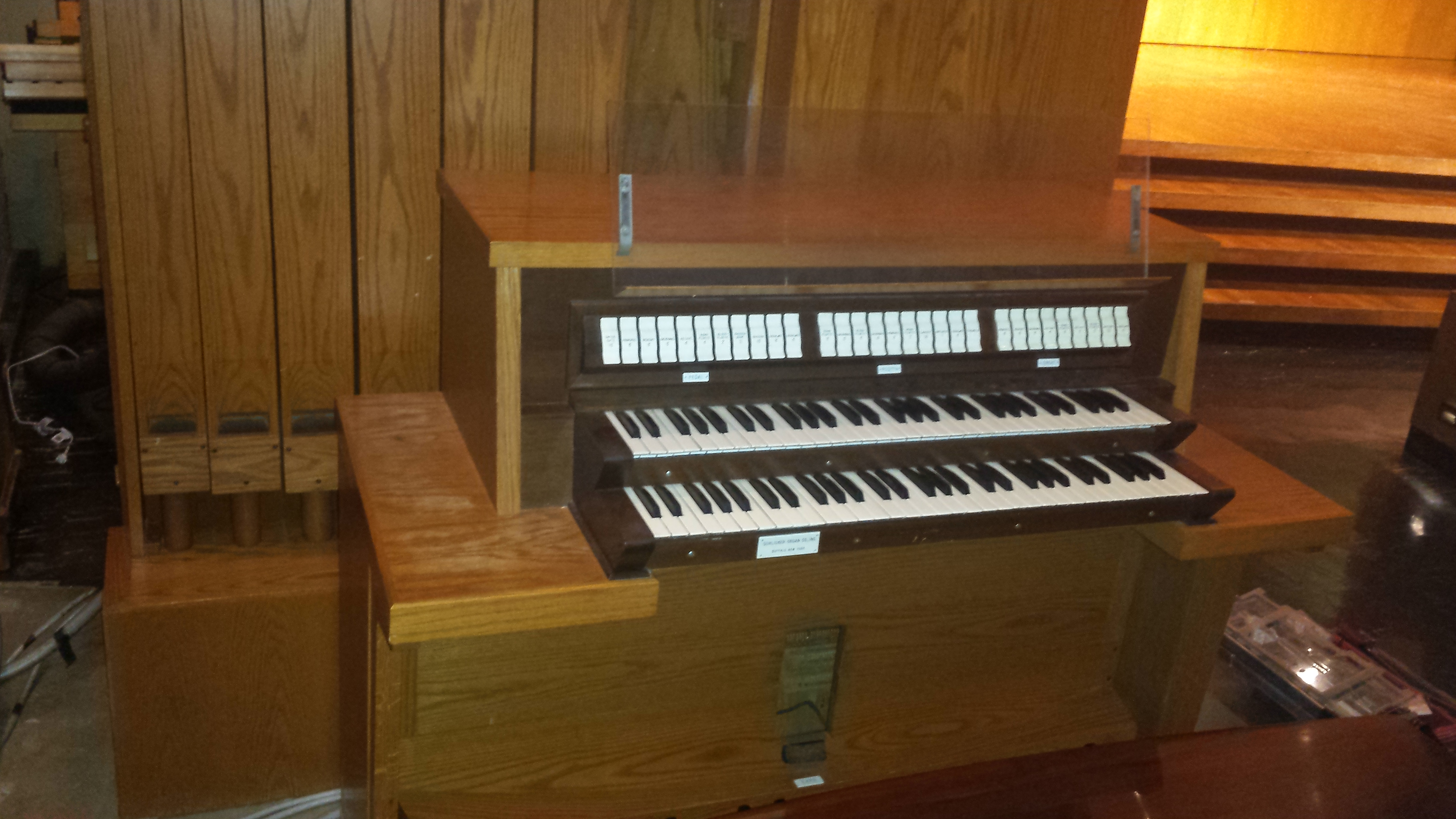 Organ For Sale >> 1967 Ii 7 Schlicker For Sale Buzard Organs